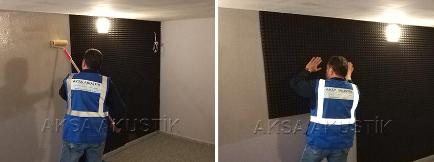 Kendiliğinden Yapışkanlı Yanmaz Akustik Sünger Fiyatları