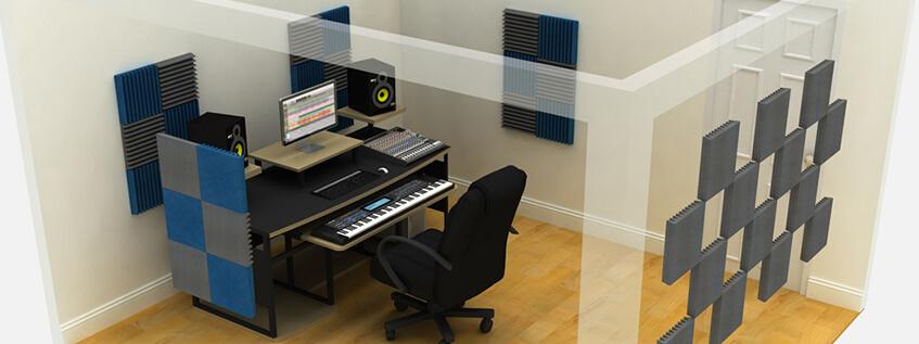 Dekoratif Renkli Akustik Sünger Fiyatları Uygulaması Antalya Ses Yalıtımı